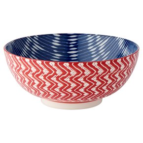 Waitrose Fusion Large Red Bowl