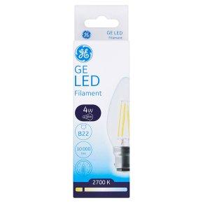GE LED Filament B22