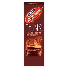 McVitie's Digestives Thins Milk Chocolate