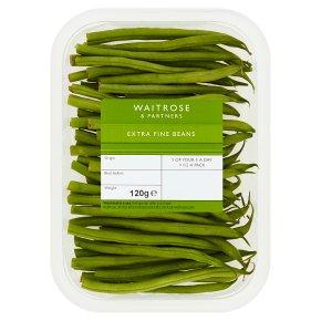 Waitrose Ltd selection extra fine beans