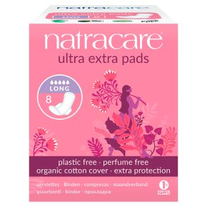 Natracare Ultra Extra Pads Long