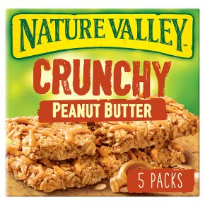 Nature Valley Crunchy Peanut Butter Cereal Bars
