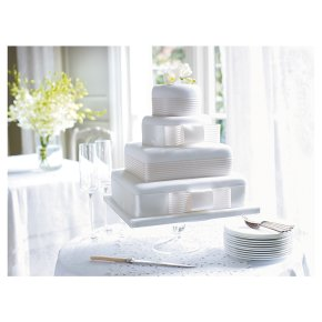 ready made wedding cakes waitrose waitrose ent cake ribbon wedding waitrose 18968