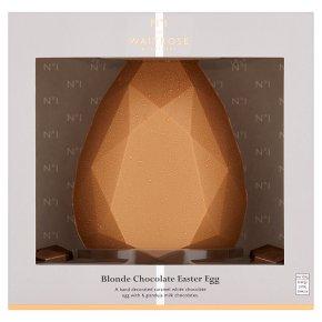 Waitrose 1 Caramel Chocolate Golden Easter Egg