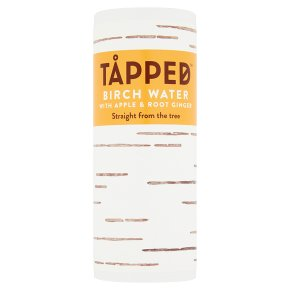 Tapped Birch Water Apple & Root Ginger