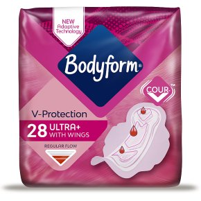 Bodyform Ultra Towels Normal Wings Duo