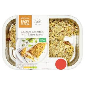 Easy To Cook Chicken Schnitzel with Katsu Spices