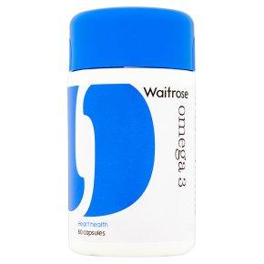 essential Waitrose Omega 3 Capsules