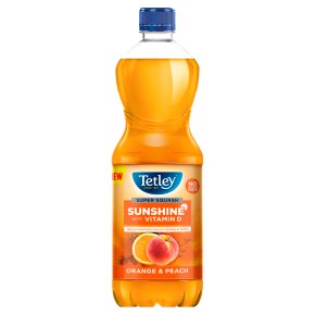 Tetley Super Squash Orange & Peach