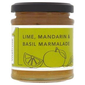 Waitrose1 Lime, Mandarin & Basil Marmalade