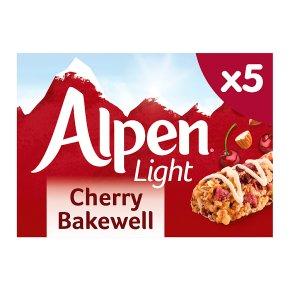 Alpen Light Cherry Bakewell 5 Bars
