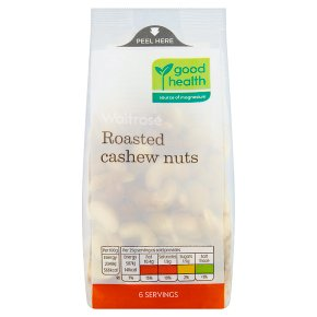 Waitrose Roasted Cashew Nuts