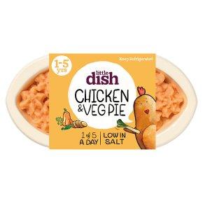Little Dish Chicken & Veg Pie