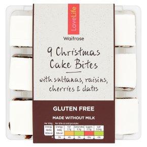 Waitrose LOVE Life FF Christmas Cake Bites