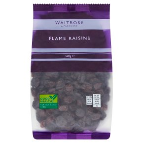 Waitrose flame raisins