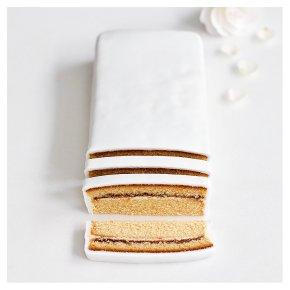 Wedding Cutting Bar - Golden Sponge cake