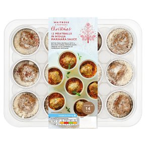 Waitrose 12 Meatballs in N'duja Marinara Sauce