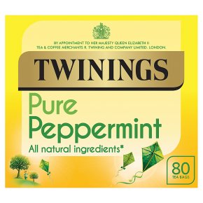 Twinings pure peppermint 80 tea bags