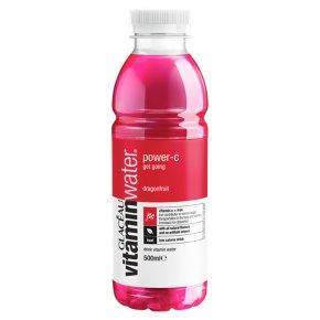 Glaceau Vitaminwater Power-C plastic bottle