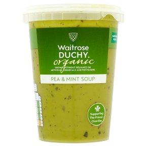 Waitrose DUCHY pea & mint soup