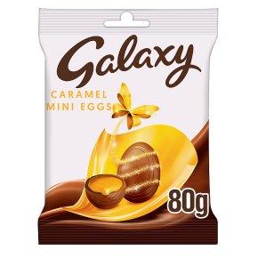 Galaxy mini caramel eggs