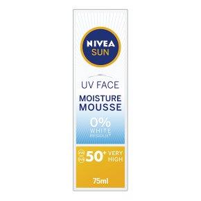 Nivea Sun UV Face Moisture Mousse