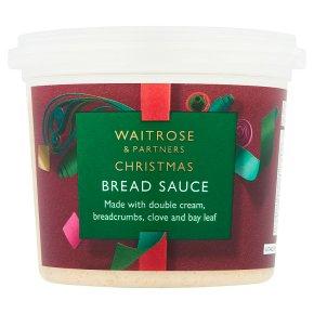 Waitrose bread sauce