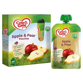 Cow & Gate Apple & Pear Pouch