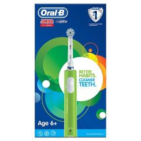 Oral-B Junior Green Electric Toothbrush