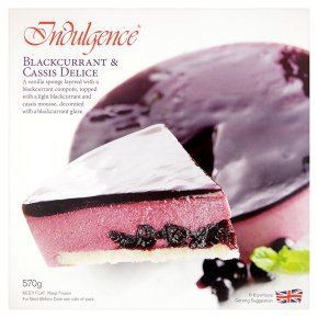 Indulgence blackcurrant & cassis delice