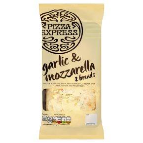 Pizza Express Garlic Bread with Mozzarella