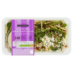 Waitrose LoveLife Calorie Controlled feta & lemon quinoa salad