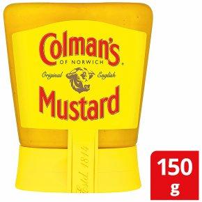 Colman's original English squeezable mustard