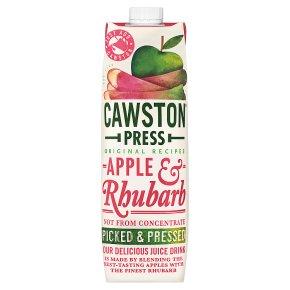 Cawston Press pressed apple & rhubarb juice
