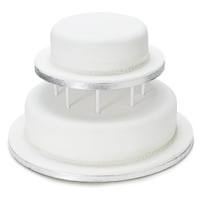 Soft Iced Wedding Cake Fruit 2 Tier Waitrose Partners