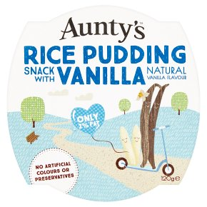 Aunty's Rice Pudding Snack Vanilla