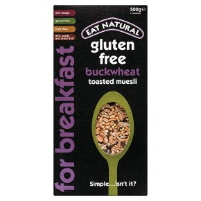 Eat Natural toasted muesli buckwheat