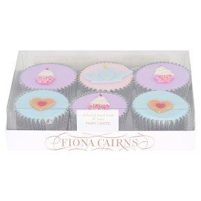 6 Tea Time Fairy Cakes