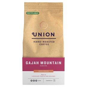 Union Hand-Roasted Coffee Gajah Mountain Sumatra