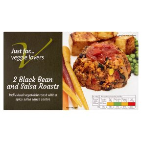 Veggie Lovers 2 Black Bean and Salsa Roasts