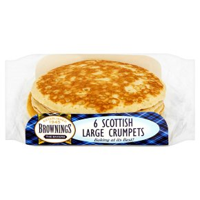 Brownings Scottish Large Crumpets
