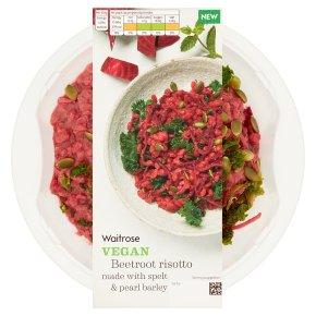 Waitrose Vegan Beetroot Risotto