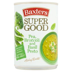 Baxters Super Good Pea, Broccoli and Basil Pesto Soup