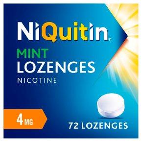 NiQuitin Mint 4mg Lozenges