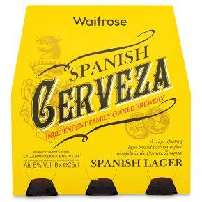 Waitrose Spanish Cerveza