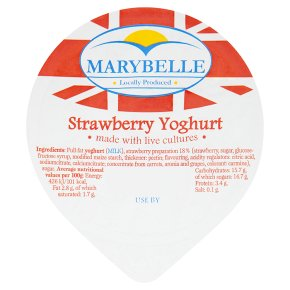 Marybelle strawberry yogurt