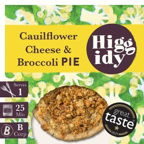 Higgidy Cauliflower Cheese Pie with Crumble