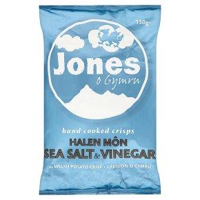 Jones crisps sea salt & vinegar