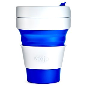 Stojo Collapsible Cup Blue