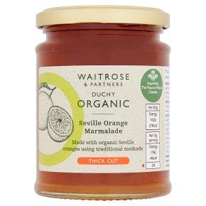 Waitrose Duchy Organic thick cut Seville orange marmalade